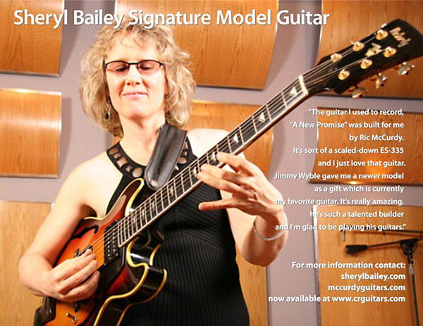 Sheryl Bailey Signature Guitar